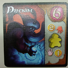 Day of Wonder Five Tribes Promo Card Dhenim New Mint Never Played