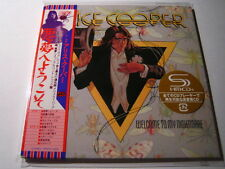 "Alice Cooper ""Welcome To My Nightmare""  Japan mini LP SHM CD"