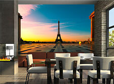 Eiffel Tower,France Wall Mural Wallpaper GIANT WALL DECOR PAPER POSTER FREE GLUE