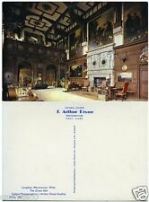 LONGLEAT, WARMINSTER, WILTS  THE GREAT HALL POSTCARD BY J.ARTHUR DIXON