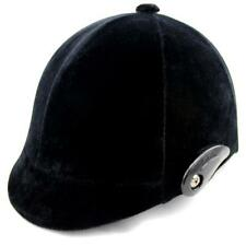 Unisex Men Women Professional Equestrian Horse Riding Sport Helmet Black S02#