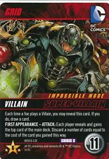 GRID 2016 DC Comics Deck Building Game CRISIS 3 CRIME SYNDICATE