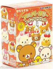 Rilakkuma Re-Ment 10th ANIVERSARY SWEETS kawaii mini toy Phone Charm dust plug