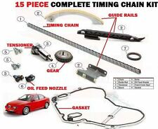FOR ALFA ROMEO BRERA 159 2.2JTS VVT 2006-3/2011 TIMING CAM CHAIN KIT COMPLETE