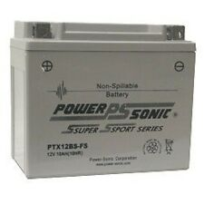 BATTERY FOR KYMCO XCITING 250i YRS 10-11   250CC 180CCA FACTORY SEALED EACH
