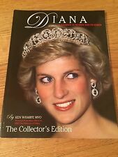 PRINCESS DIANA - JOURNEY IN WORDS & PICTURES BY KEN WHARFE - MAGAZINE - UK