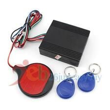 Car Engine Push Start Button RFID Alarm Lock Keyless Entry Immobilizer System