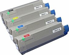 New ! 4PK HY Toner for OKI OKIDATA C610N Color Printer Toner 44315304 44315301