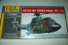 HELLER  AS 332 SUPER PUMA    1:72 scale plastic kit