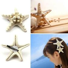 Fashion Mermaid Ariel Hair Clip Sea Star Hair Accessory Halloween Ariel Hairpin
