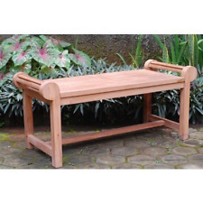 Lutyens Coffee Table/Backless Bench, Grade A Premium Indonesian Teak, LIST $1050