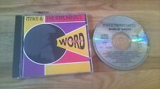 CD Pop Mike And The Mechanics - Word Of Mouth (10 Song) VIRGIN Genesis NL PRESS