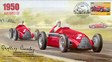 1950a ALFA ROMEO 158s SILVERSTONE F1 cover signed GEOFFREY CROSSLEY