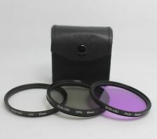 62mm FLD UV CPL Circular Polarizing Lens Filter Kit For Canon Nikon Tamron Sigma