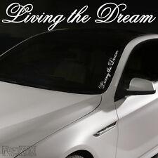 Gran viviendo el sueño de alquiler de van Window Decal Sticker Jdm Euro Vag Dub Vw Tuning