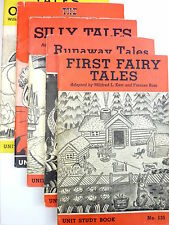 Vintage 1930's Folk & Fairy Tales American Education Press Children's Books