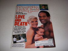 PEOPLE Magazine, June 27, 1994, O.J. SIMPSON NICOLE SIMPSON MURDER JOEY LAWRENCE