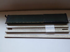REGLE A CALCUL FABER CASTELL A. W. 1/87 RIETZ  MADE IN GERMANY BOIS BUIS