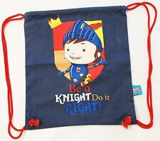 MIKE THE KNIGHT PER BAMBINI CORDINO COTONE BORSA KIT / PE / NUOTO