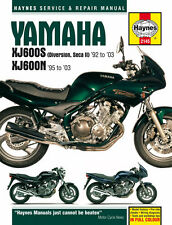 HAYNES 2145 MOTORCYCLE SERVICE REPAIR OWNER MANUAL YAMAHA XJ600N FOURS 1995 - 03
