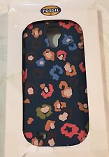 FOSSIL Galaxy S4 Multi-Color Cheetah Print Phone Case NEW $35