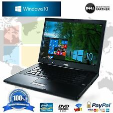 Dell Laptop Latitude Windows 10 Pro Wifi Intel Core 2 Duo 120GB HD Computer Win
