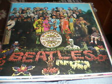 The Beatles LP Sgt Pepper's Lonely Hearts Club Band GATEFOLD/INSERT