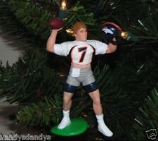 john ELWAY denver BRONCOS nfl FOOTBALL tree XMAS ornament HOLIDAY vtg JERSEY #7