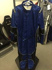 Sparco Max-Speed Karting Suit Blue/Black (52)