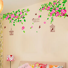Wall Stickers Wall Decals LCD TV Backdrop Hibiscus Flowers