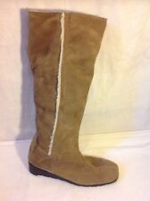 Aerosoles Brown Knee High Suede Boots Size 5.5