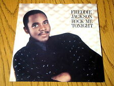 "FREDDIE JACKSON - ROCK ME TONIGHT   7"" VINYL PS"