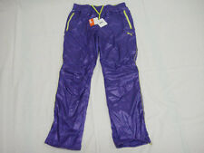 Puma Shiny Nylon Tracksuit Pants Bottoms Waterproof Baeball Soccer Jog L BNWT