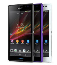 Unlocked New Original Sony Xperia C S39h C2305 Dual SIM 4GB 8MP Smartphone Black