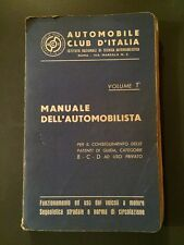 Manuale dell'Automobilista-Volume 1-Edizione 1961-Patenti di guidaB-C-D-Magazine