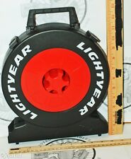 DISNEY PIXAR TIRE CARRYING TRAVEL PLASTIC CASE HOLD 12 FOR 1:55 CARS USED MATTEL