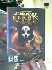 STAR WARS KNIGHTS OF THE OLD REPUBLIC THE SITH LORDS 4 PC CDS FREE UK POST