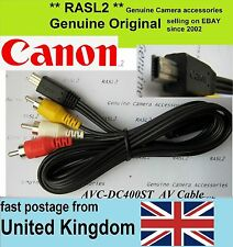 Genuine Original Canon AV Cable PowerShot G1 X Mark II,G7 X, S200 SX510 SX60 HS