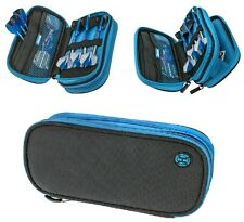 Harrows Z800 Darts Case/Wallet Black and Blue