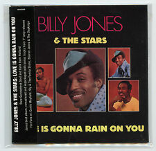 Billy Jones & The Stars • Japan Import CD w/ Obi Strip Album Replica