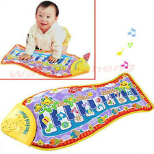 Fish Animal Music Mat Touch Kick Play Fun Baby Piano Toys for Kid Child's Gift