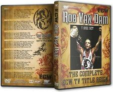 Rob Van Dam - The Complete ECW TV Title Reign DVD-R Set RVD WWE TNA WWF