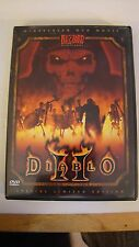 RARE! Blizzard Diablo II 2 Special Limited Edition Widescreen DVD Movie