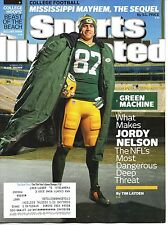 JORDY NELSON Sports Illustrated GREEN BAY PACKERS December 1 2014 12/1/14