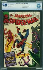 Amazing SPIDER MAN # 21 MARVEL US 1965 2nd BEETLE CBCS 9.0 VFN-NM (like CGC)