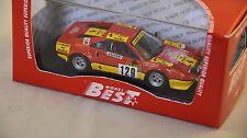 BEST MODEL BES9620 - Ferrari 308 GTB Gr.4 rallye Monte Carlo - 1983    1/43