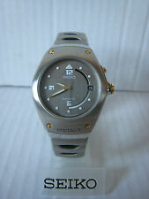 Seiko Arctura Kinetic 5m42 Watch All Stainless Steel Full Size New Old Stock
