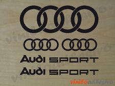 PEGATINA STICKER VINILO Audi Sport racing aros