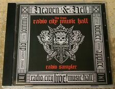 HEAVEN & HELL LIVE from RADIO CITY MUSIC HALL Radio Sampler RARE PROMO CD 2007