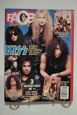 Faces Rocks Magazine '92 October 1992 (Kiss, Guns N Roses, Metal)